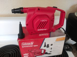 Coleman quickpump 120v for Sale in Fresno, CA