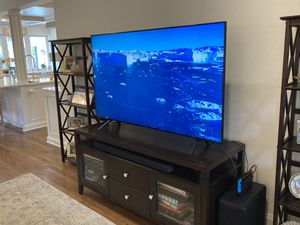 Beautiful Wood Media Console for Sale in Oakland Park, FL