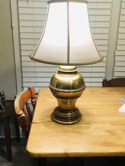 Solid Brass Lamp Weight 10lbs for Sale in North Versailles,  PA