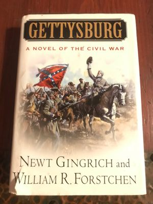Gettysburg A Novel of The Civil War Newt Gingrich for Sale in Winter Haven, FL