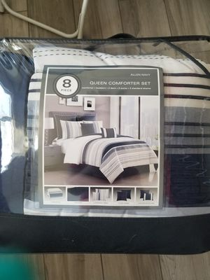 New queen comforter 8pcs for Sale in Phoenix, AZ