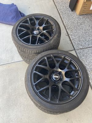 "4x Black VMR V710 with Nitto Tires 18"" for Sale in Irvine, CA"