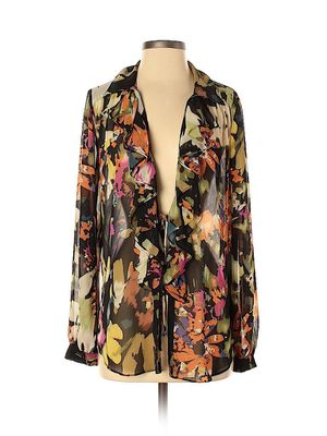 CAbi- Medium: Floral Sheer Long Sleeve Blouse/ Shirt for Sale in San Diego, CA