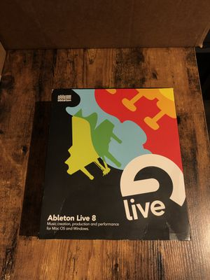 Ableton Live 8 software with Live 9 upgrade option for Sale in Seattle, WA