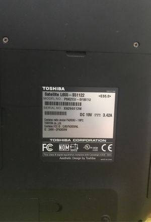 Toshiba laptop for Sale in San Jose, CA