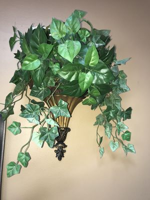 Wall sconce/plant holder for Sale in Bartlett, IL