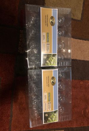 Hampton Bay 24 G40 clear bulbs 24 ft for Sale in Tampa, FL