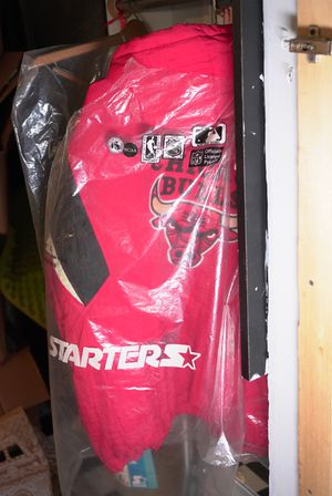 Nike Air Jordan Retro VINTAGE rare Original 90's Starter Jacket for Sale in Chicago, IL
