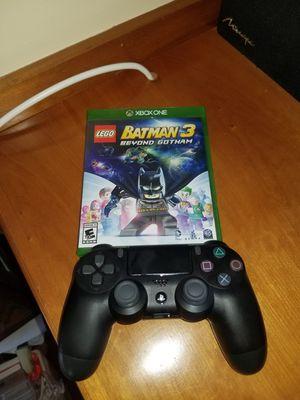 Ps4 Controller + Lego Batman 3 (X Box One) for Sale in Washington, DC