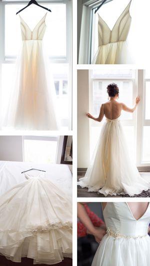 Designer Wedding Dress (retail $4500) for Sale in Laguna Niguel, CA