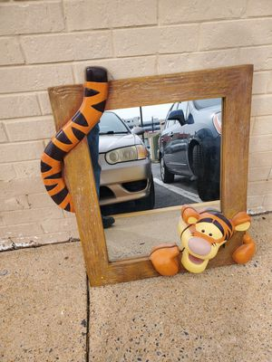 Wooden Tigger Mirror for Sale in Silver Spring, MD