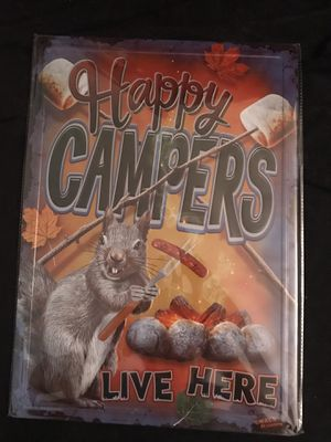 Metal sign for CAMPERS for Sale in Kenneth City, FL