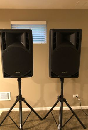 CARVIN PA Monitors with stands for Sale in Naperville, IL