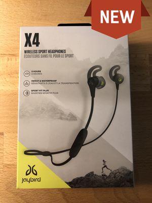 Jaybird X4 Wireless Sports Headphones for Sale in West Covina, CA