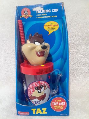 Vintage Looney tunes cool taz talking cup for Sale in Southwest Ranches, FL