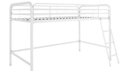 DHP Junior Loft Bed Frame With Ladder, White for Sale in Sicklerville,  NJ