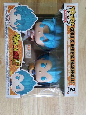 Dragonball Z Super 2 pack Goku & Vegeta Baseball for Sale in The Bronx, NY
