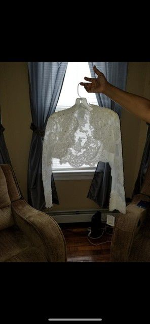 Wedding dress jacket for Sale in North Providence, RI
