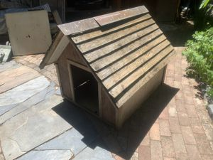 Wood Doghouse for Sale in Danville, CA