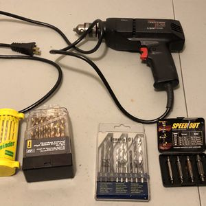 """Craftsman 3/8"""" Drill And Bits for Sale in Portland, OR"""