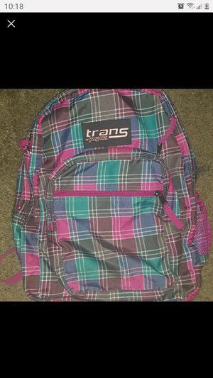 Jansport Backpack pink plaid for Sale in Jacksonville, FL