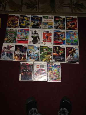 Wii games for Sale in Los Angeles, CA
