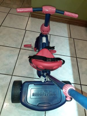 smarTrike Folding Fun, 2-in-1 Toddler Tricycle for Sale in Downey, CA
