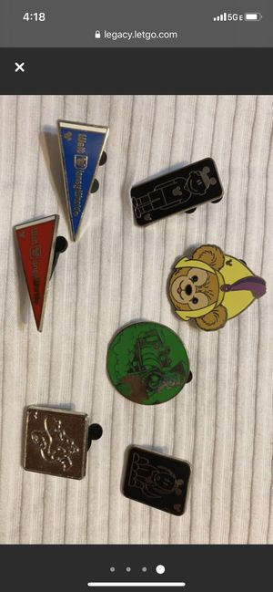 Disney Enamel Pins for Sale in Columbia, SC