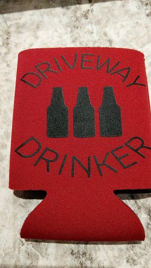 Driveway drinker screen print koozie for Sale in Hazelwood, MO