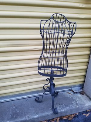 Two...Roth iron decorative dress stands for Sale in Columbia, SC