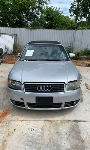 2005 Audi A4 3.0 Parting Out for Sale in Irving, TX