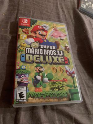 Nintendo Switch Super Mario Bros. U Deluxe for Sale in Pompano Beach, FL