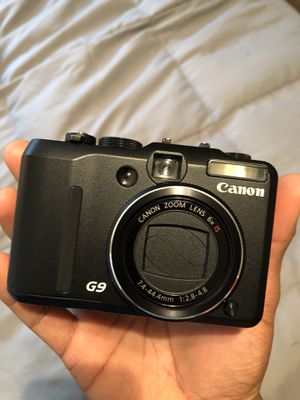 CANON G9 Pocket digital camera for Sale in San Diego, CA