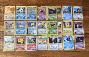 Pokemon cards 36 total old school cards 9 holo cards for Sale in The Bronx, NY