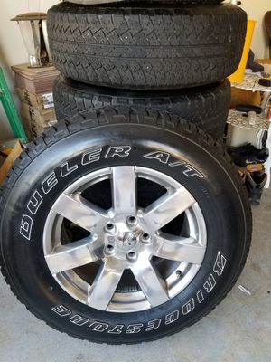Jeep jk wheels and tires for Sale in Villa Rica, GA