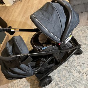 Graco UNO2DUO Travel System for Sale in Los Angeles, CA