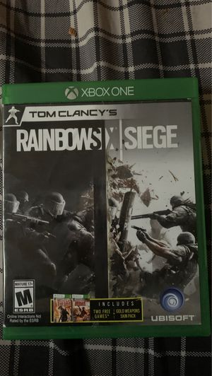 Rainbow 6 seige for Sale in Wyoming, MI