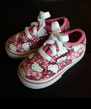Hello Kitty Vans size 4C toddler for Sale in Laveen Village, AZ