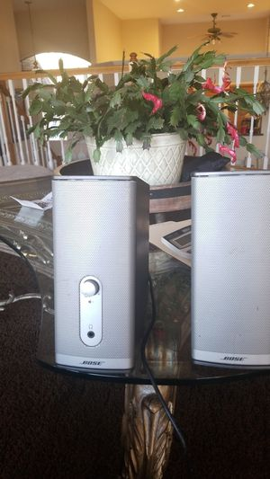 Bose Companion 2 multimedia speakers. for Sale in Tulsa, OK