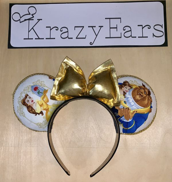 Disney Inspired No Sew Ears