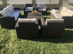 Huge patio furniture set for Sale in Riverside, CA