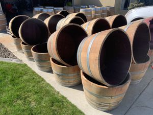 Half and full barrels for sale for Sale in West Richland, WA