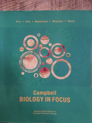 Biology book for Sale in Portland, OR