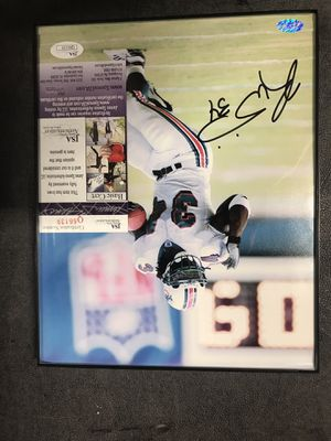 Rickey Williams signed 8X10 dolphins for Sale in Virginia Beach, VA