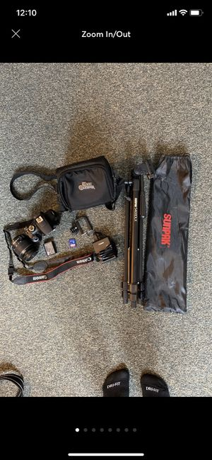 Canon Rebel T6 for Sale in Bethesda, MD