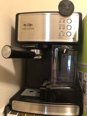 Mr. Coffee Cafe Barista Espresso and Cappuccino Maker for Sale in Chapin, SC