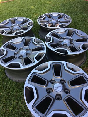 2017 Jeep Rubicon Wheels for Sale in Shafter, CA