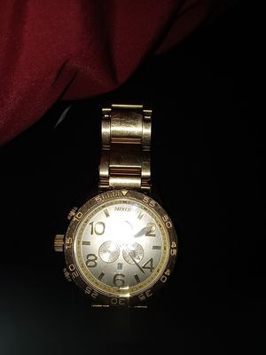**Black Friday Special**Gold Nixon Watch for Sale in Riverside, CA