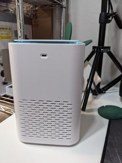 Air purifier with HEPA filter for desks side tables brand new for Sale in Dallas,  TX