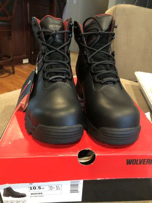 Black Waterproof work boots for Sale in East Garden City, NY